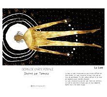 """""""La Lune"""" en Mots & Image (Tarmasz) Photographic Print"""