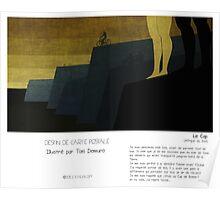 """Le Cap"" en Mots & Image (Toni Demuro) Poster"