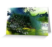 Light Music Greeting Card