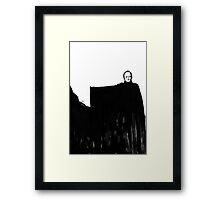 Nothing Escapes Me, No One Escapes Me Framed Print