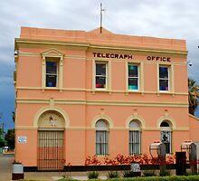 Telegraph Office - Boulder W.Australia by Futurama