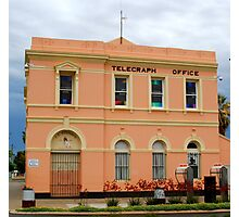 Telegraph Office - Boulder W.Australia Photographic Print