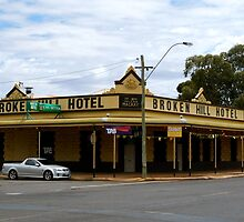 Broken HIll Hotel - Boulder Western Australia by Futurama