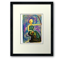 The Lament Becomes Her Framed Print