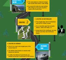 An Infographic on Best, Most Dangerous and Haunted Roads in the world by Infographics