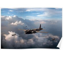 Vickers Wellingtons with 16 OTU Poster