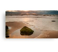 Sunset Shining Canvas Print