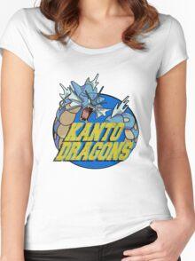 Kanto Dragons, Gyarados Women's Fitted Scoop T-Shirt
