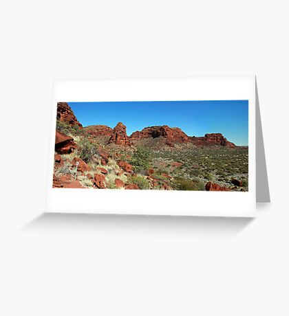 Palm Valley, Northern Territory, Australia Greeting Card