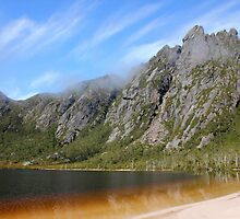 Lake Rhona And Reeds Peak, Tasmania by Nick Delany