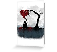 Edward in Love Greeting Card