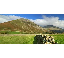 Kirk Fell & Great Gable Photographic Print