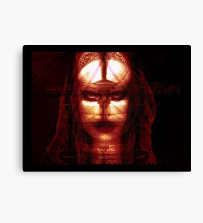 Godisnowhere666 . The God Head Canvas Print