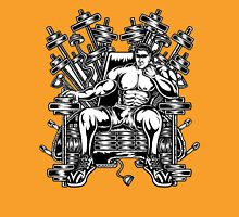 King's Throne of Barbells Unisex T-Shirt
