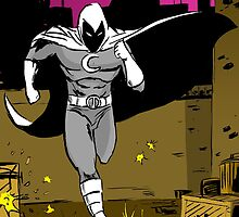 Moon Knight Running by MattKyme