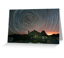 Startrails at Bombo, NSW Greeting Card