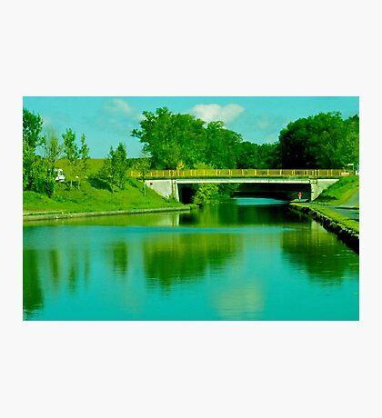 Bridge in Alsace Lorraine Photographic Print
