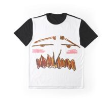 Tiny Eyes, Big Moustache  Graphic T-Shirt
