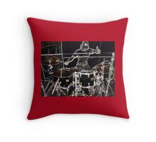 RELEASE THE SOUND Throw Pillow