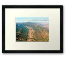 Outback Mountains Framed Print