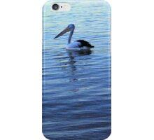 Pelican at dusk iPhone Case/Skin