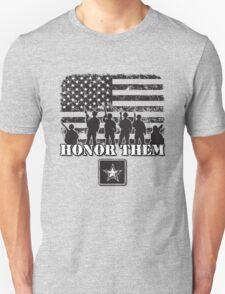 Honor Them-Army T-Shirt