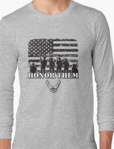 Honor Them-Air Force Long Sleeve T-Shirt