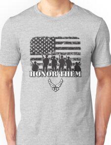 Honor Them-Air Force Unisex T-Shirt