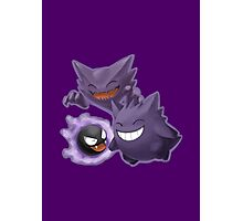 Gastly Haunter Gengar Photographic Print