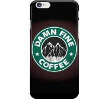 Damn Fine Coffee iPhone Case/Skin
