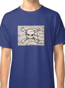 Skull Crack Stamp Classic T-Shirt