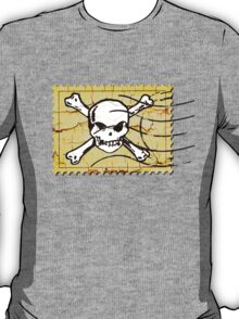 Skull Crack Stamp 2 T-Shirt