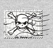 Skull Crack Stamp 3 by Nhan Ngo