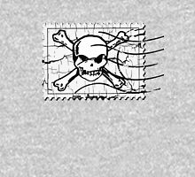 Skull Crack Stamp 3 Unisex T-Shirt