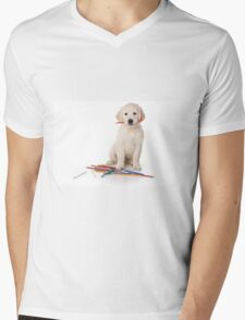 Fluffy Puppy golden retriever T-Shirt