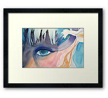 Elven Eye Framed Print