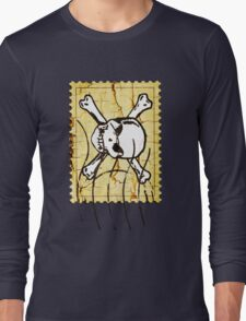 Skull Stamp 2 Long Sleeve T-Shirt