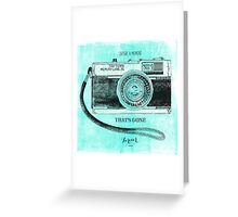 Capture Greeting Card