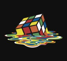Melting Rubik's Cube by r3ddi70r