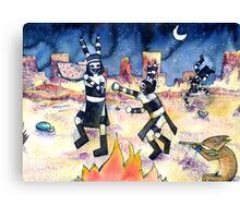 Night Games Canvas Print