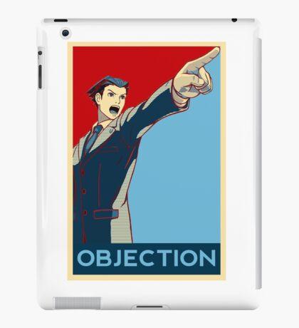 Objection - R/B iPad Case/Skin