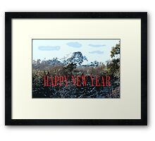 HAPPY NEW YEAR 89 Framed Print