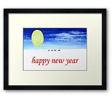 HAPPY NEW YEAR 90 Framed Print