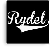 Baseball Style Rydel (White) Canvas Print