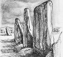 Beltany Stone Circle by CapallGlas