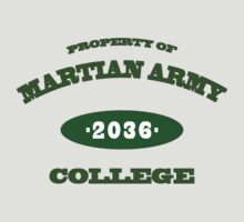 Property of Martian Army College by Mo Ali