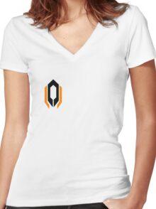 Cerberus - Mass Effect Women's Fitted V-Neck T-Shirt