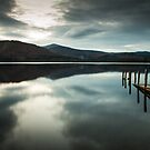Nightfall over Derwent Water by wildscape