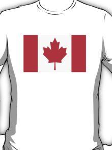 Canada Canadian Flag Maple Leaf T-Shirt