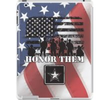 Honor Them-Army iPad Case/Skin